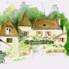 Chambres d'Hôtes La Belle Demeure, en Dordogne, au cœur du Périgord Noir, proche de Sarlat. Les lits douillets sont équipés de linge 100% coton en Seersucker. Salle d'eau attenante à chaque chambre. Suite Familiale. Table d'hôtes et Piscine. Consultez nos tarifs et références sur notre site internet.