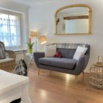 Chelsea Suite : a bedroom with a separate lounge at La Belle Demeure....